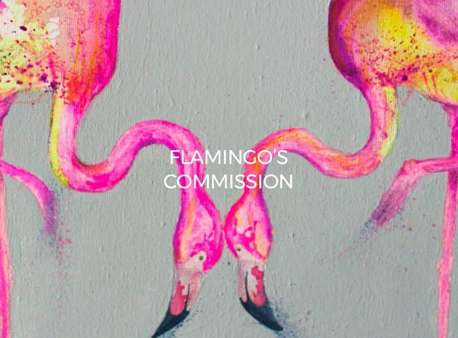 flamingos-commission